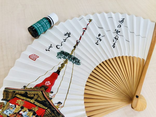 京都の扇子とアロマ