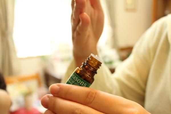 精油の香りテスト嗅覚訓練法<かんたん初級編>